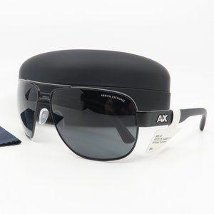 AX 2012S 6063/87 Armani Exchange Matte Black Sun